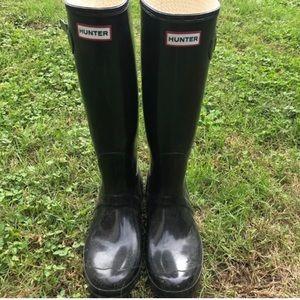Hunter Boots | Original Gloss Tall Sz 10